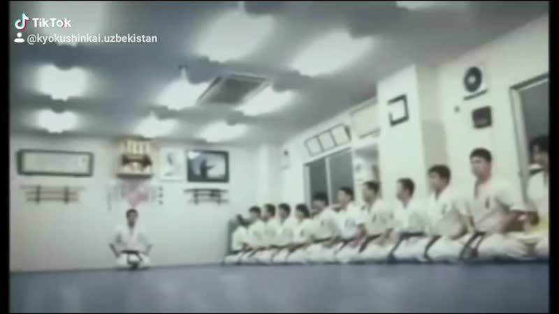 Кёкушинкай каратэ сценыФильм Ойижон