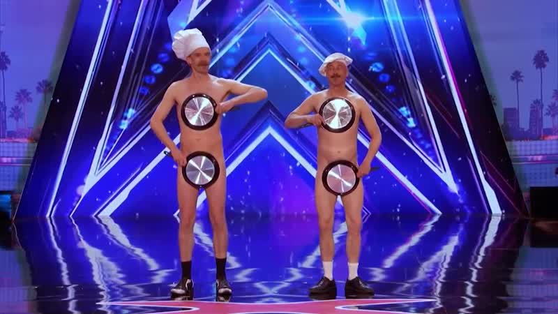 Men with Pans SHOCK the Audience - Americas Got Talent 2017