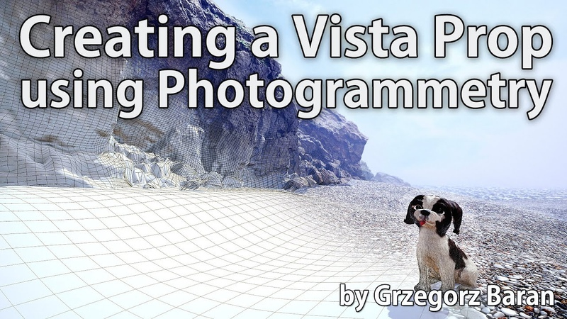 Environment Art Turning a Cliff into a vista prop using photogrammetry