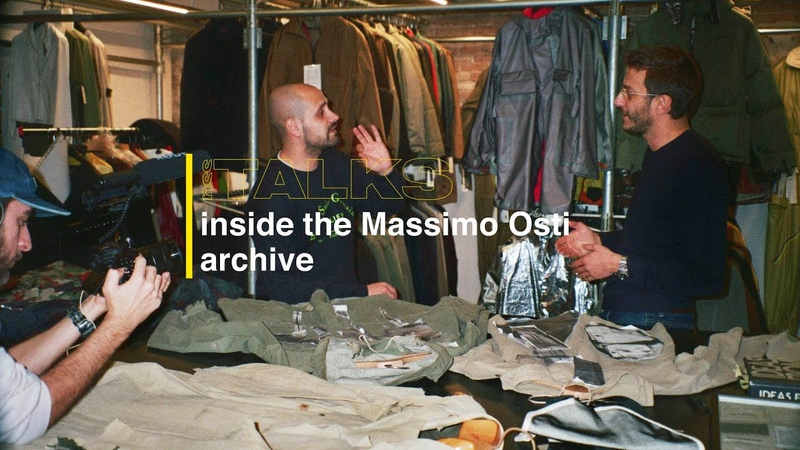 Nss talks Inside the Massimo Osti Archive