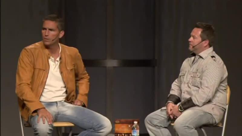 Passion of Christ Jim Caviezels Interview Страсти Христовы Интервью Актера