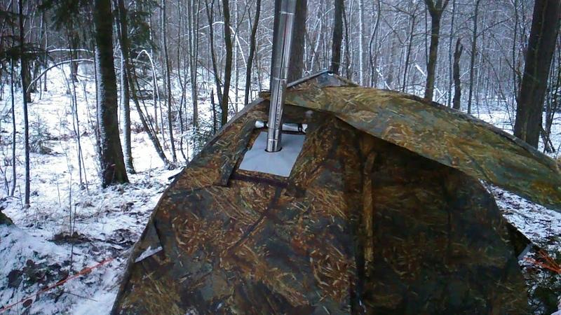 Палатка Зима Лето печь экономка малая