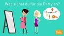 Deutsch lernen mit Dialogen / Lektion 10 / trennbare Verben / Aussprache äu, eu / Hörverstehen