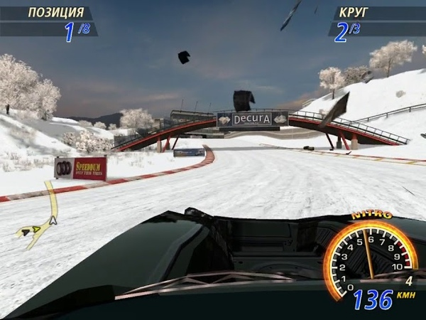 FlatOut 2 Winter Pursuit 25 Special Street Circuits Cup 5 Riverbay Circuit 3