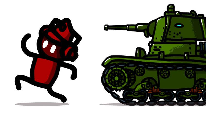 Истории танкистов Красные против Зелёных