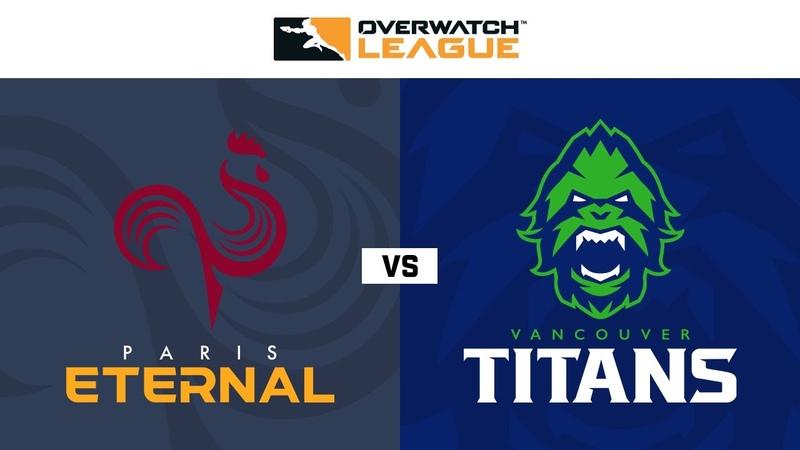 Quarter Final A Paris Eternal vs Vancouver Titans Summer Showdown NA Day 2