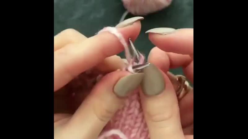 Закрываем петли шнуром i cord