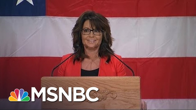 Best of Sarah Palin's Wisconsin Fish Fry One Liners MSNBC