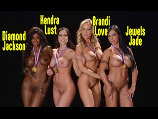 Kendra Lust, Jewels Jade, Brandi Love, Diamond Jackson групповой секс, порно сиськи blowjob sex anal porn brazzers mylf