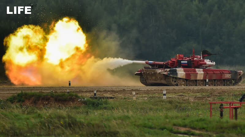 Танковый биатлон в Алабине Финал