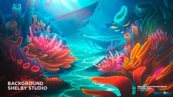 underwater paintings artwork - HD1400×864