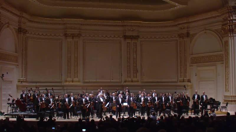 Münchner Philharmoniker, Valery Gergiev, Leonidas Kavakos - Widmann, Brahms, Enesco, Chostakovitch (New York, 2019)
