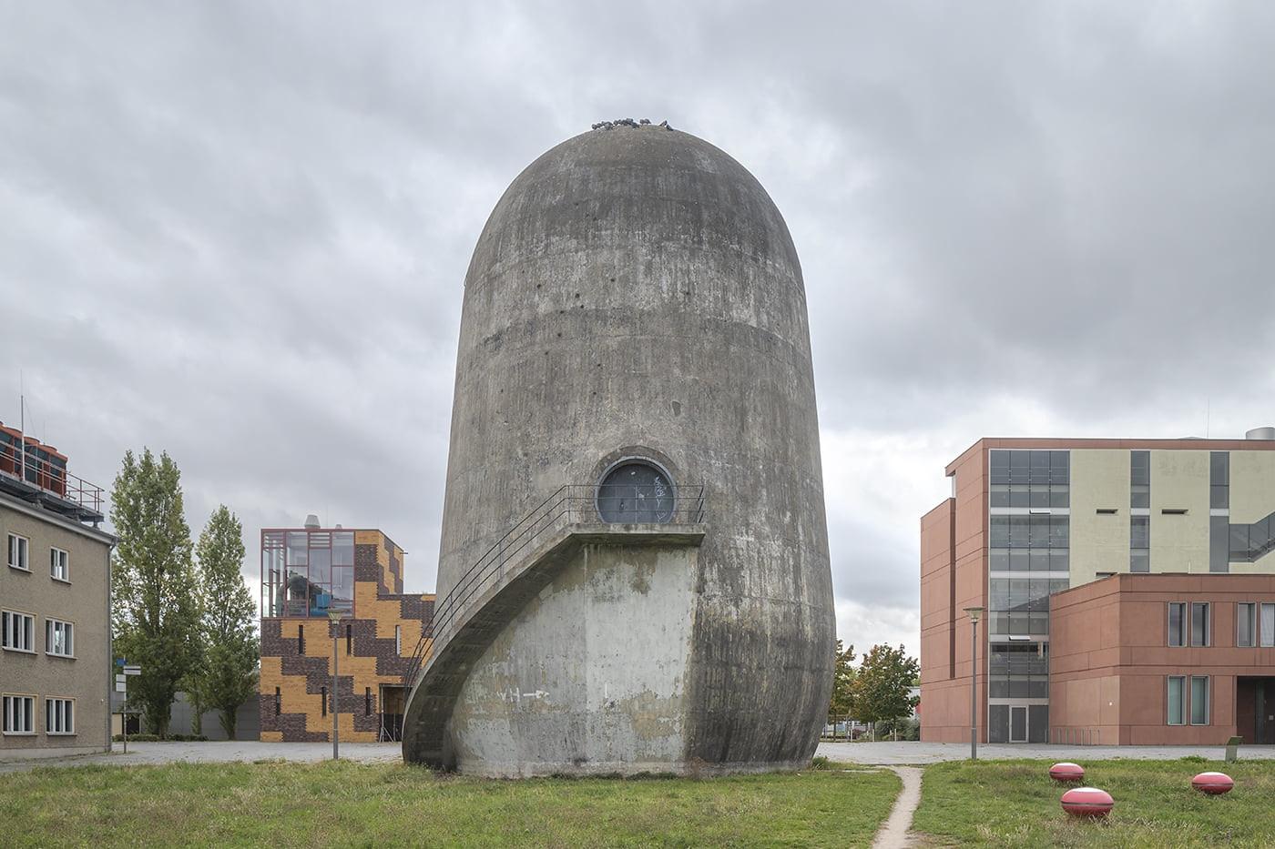 Роберто Конте | «Башня-толстушка» в Адлерхофе, Берлин - Фото