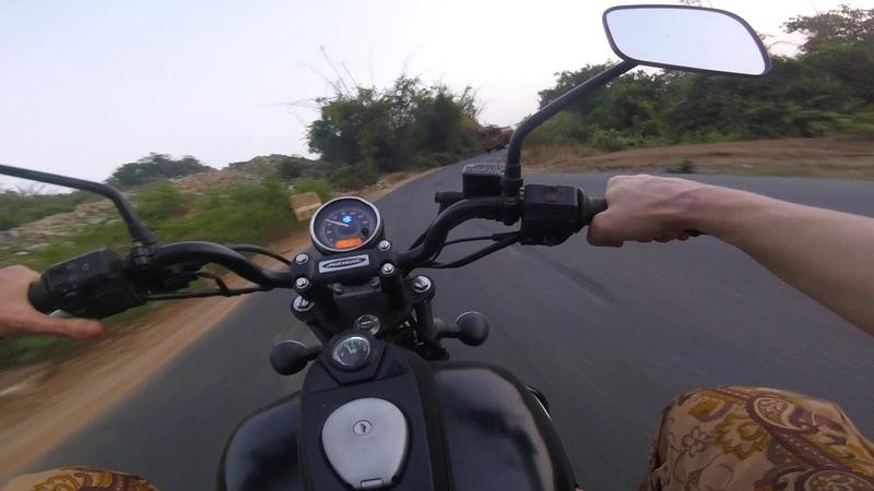 Agonda - Gokarna by Avanger 220street. India. Агонда - Гокарна на Эвэнджере 220см 19 декабря 2020г.