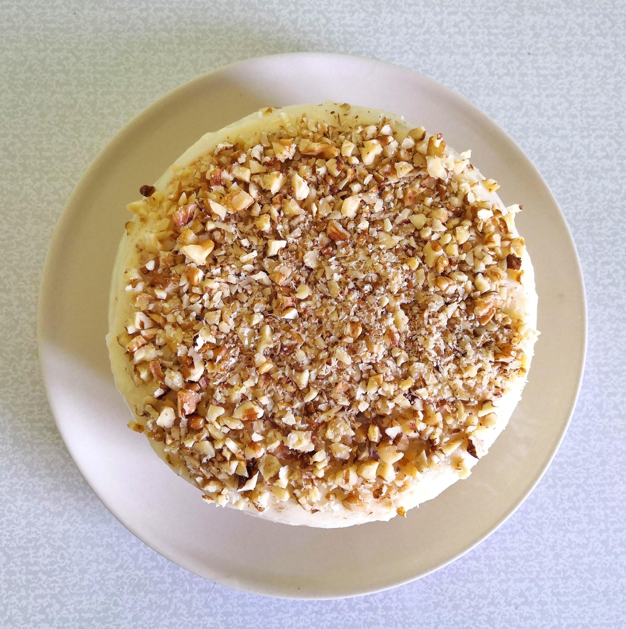 Творожный торт на сковороде с заварным кремом E0ie_hIDzCU