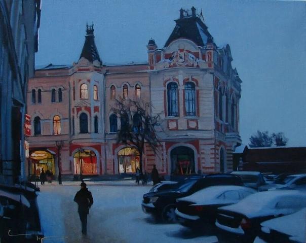 Алексей Чернигин родился в 1975 году в Нижнем Новгороде в семье известного российского художника Александра Чернигина