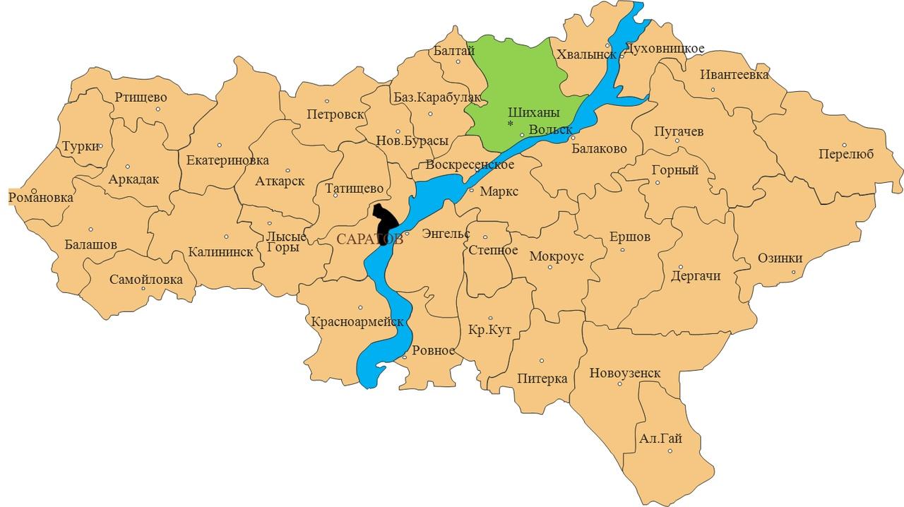 Стала известна статистика распределения заболевших коронавирусной инфекцией по районам Саратовской области: петровчан среди них на сегодняшний день нет