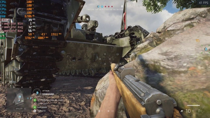 Battlefield V - 1080p With The MSI GTX 1060 AMD A8 5600K