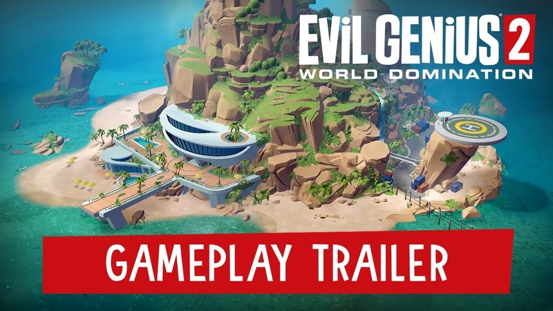 Evil Genius 2 World Domination - Gameplay Trailer