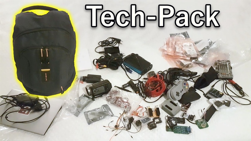 FillerFriday: My Tech-Pack for Hackaday Supercon