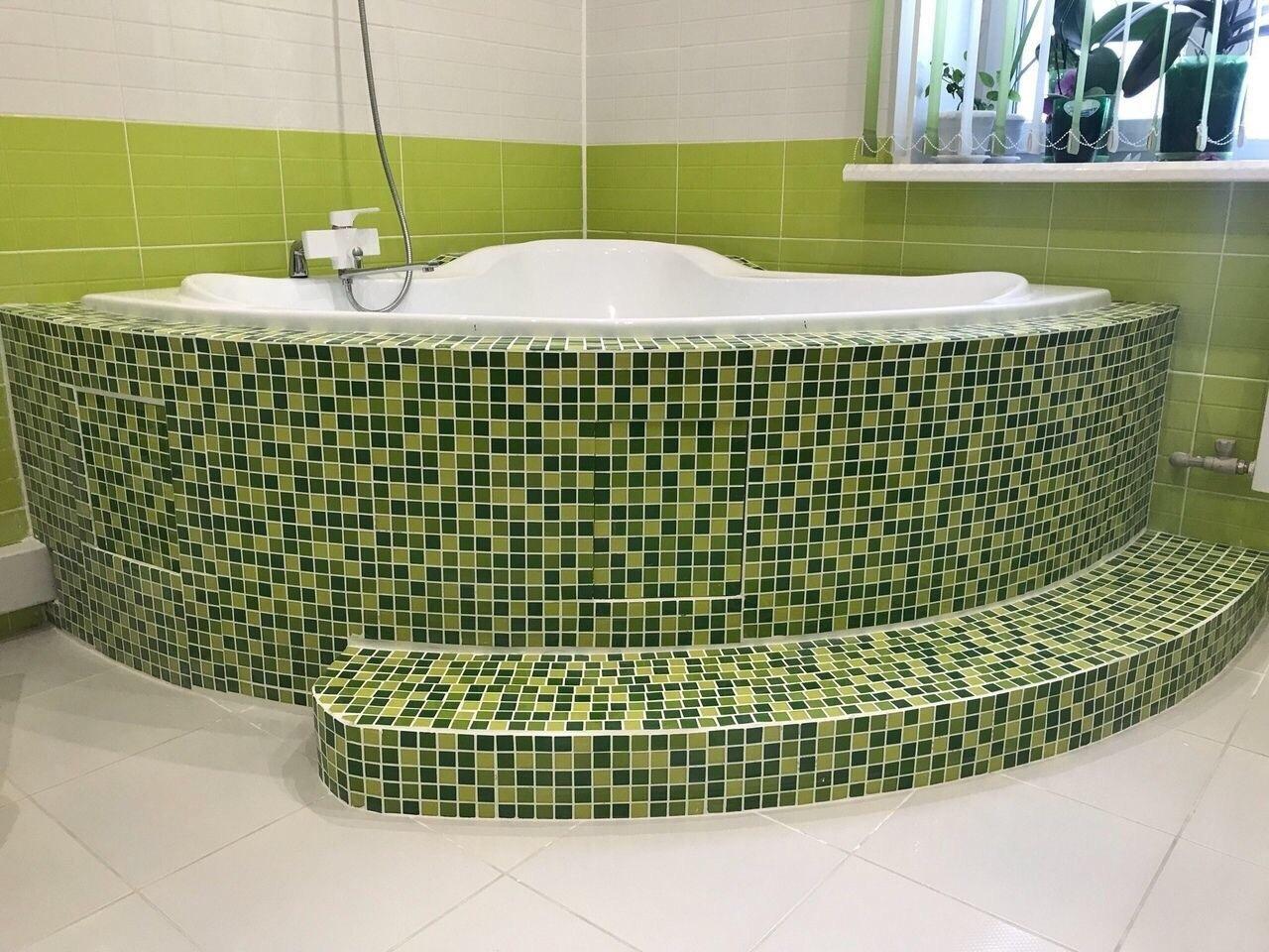 Полностью своими руками сделали ремонт ванной комнаты. Интересно ваше мнение