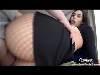 МЕНЯ ТРАХАЮТ ЧЕРЕЗ КОЛГОТКИ (sex video porno 18 ass Anal home анал Hentai секс порно Teen Russian Mature Babe (3)