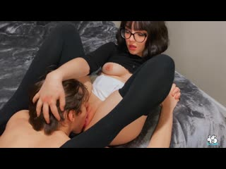 Faye Valentine (Hot Brunette in Glasses Gets Creampie) [2020, Glasses, Cum Shot, Wife, Deep Throat, HD 1080p]