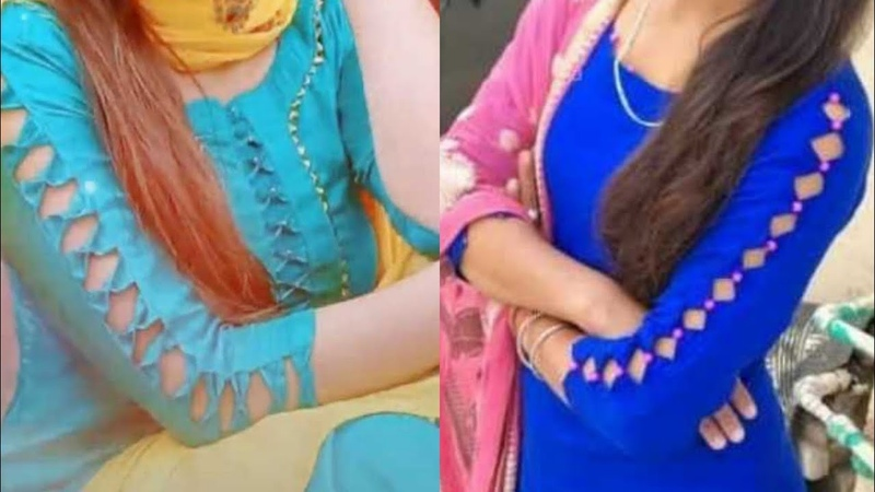 Latest beautiful sleeve design for Punjabi suit 😍suit sleeve design sleeve design for kurti
