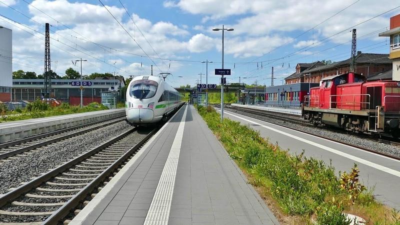 Bahnhof Wabern in Nordhessen jetzt mit ICE Anschluß !