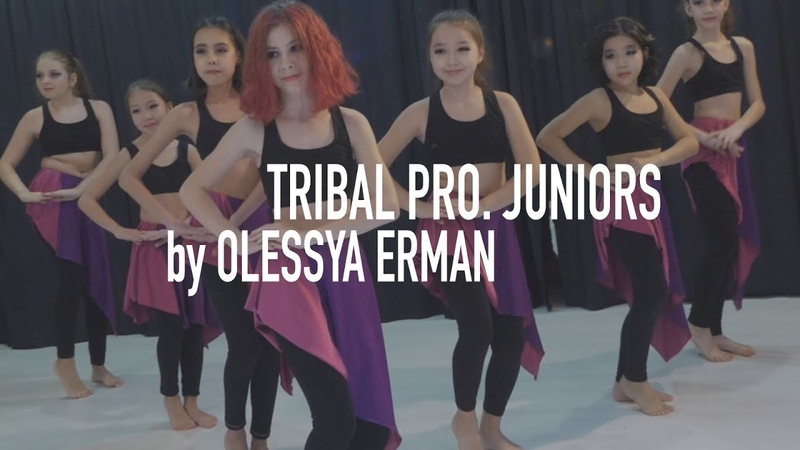 Tribal Fusion Belly dance Tribal PRO Juniors by Olessya Erman