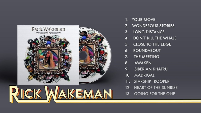 Rick Wakeman - Two Sides Of Yes (Full Album)