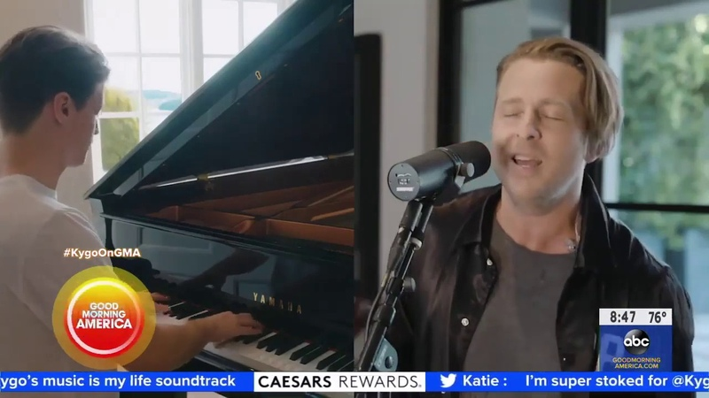 OneRepublic's Ryan Tedder and Kygo on Good Morning America interview Lose Somebody