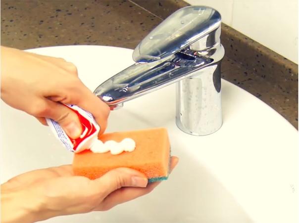 Зубная паста - лайфхаки для хитрой хозяйки