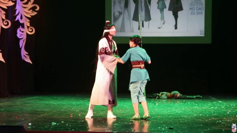 Магистр дьявольского культа (Групповое дефиле - азия) - Fuyu no Сosplay 2019