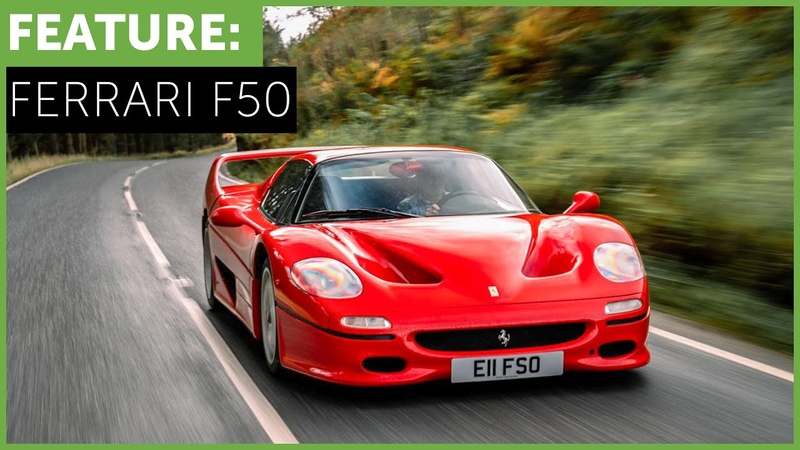 Ferrari F50 with Tiff Needell The Story of an Icon