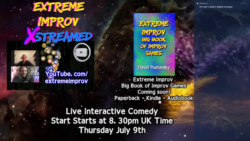 Extreme Improv XStreamed Live Interactive Comedy Show!