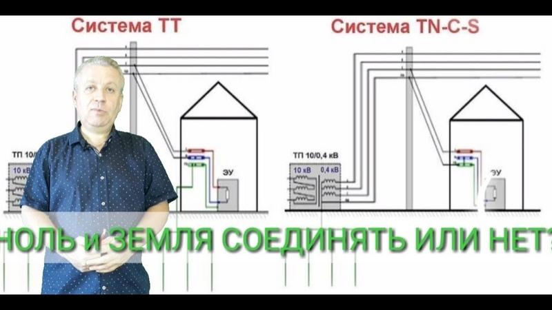 Ноль и земля соединять или нет заземление в доме или в квартире контур заземления киев 380962629848