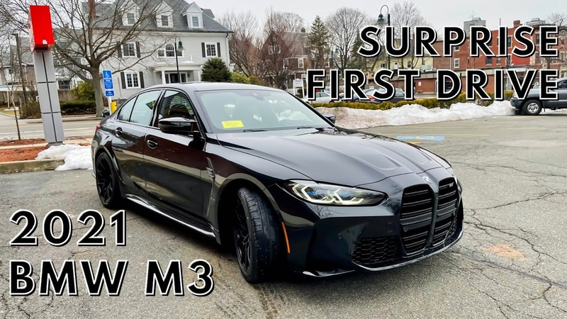2021 BMW M3 G80 SURPRISE FIRST DRIVE SOUND AND INITIAL IMPRESSIONS SPOLIER IT'S FANTASTIC