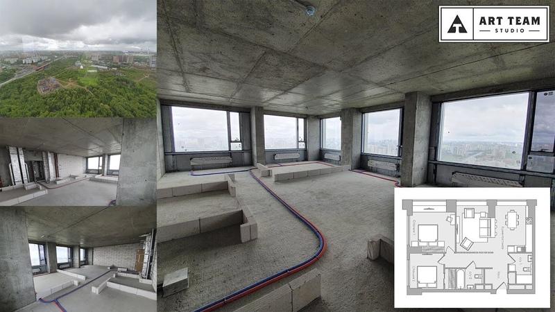 Башня SOLO, 80,2 м.кв. Видео обзор квартиры
