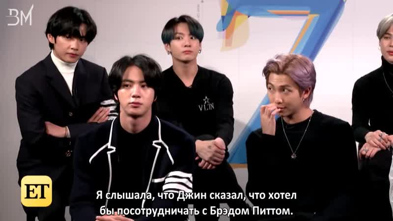 [RUS SUB] BTS on the Part of 'Map of the Soul: 7' That Gives Them GOOSEBUMPS | Full Interview
