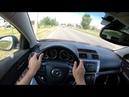 2008 Mazda 6 2.0L 147 POV TEST DRIVE