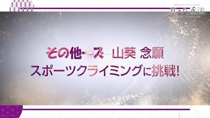 真・八重流 スポーツ部 〜クライミング編〜