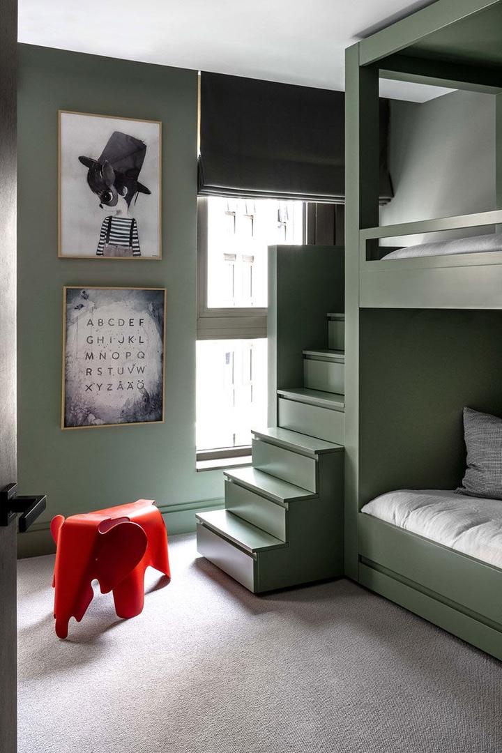 Элегантные современные апартаменты семьи фешн-дизайнера в Лондоне || 02