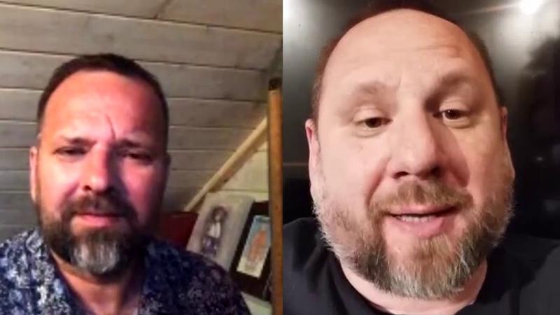 INSTAGRAM LIVE Андрей Лукьянов и Сергей Лукьянов Вторая часть БОЖИЙ ДАР