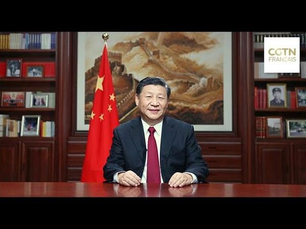 Le président chinois Xi Jinping livre son message du Nouvel An 2020