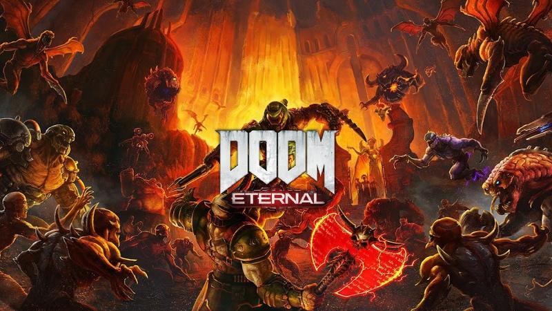 Doom Eternal 8 Место появления преисподни на земле Разрыв пукана смотреть до конца