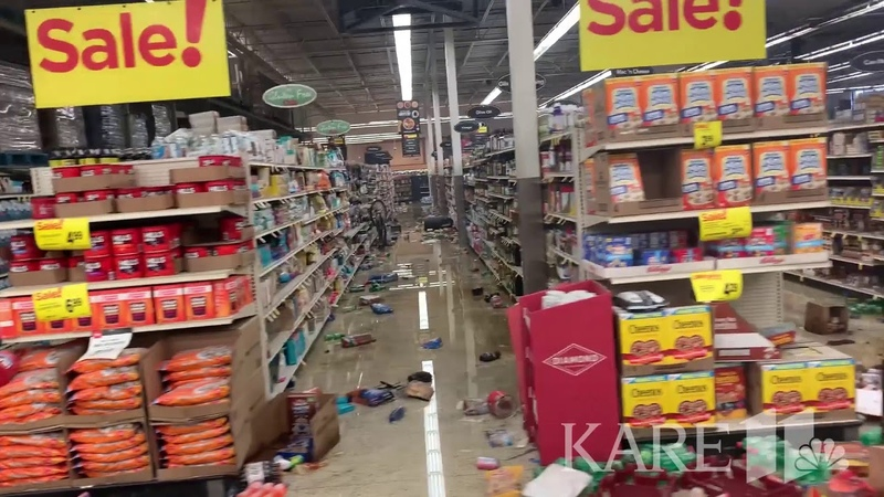 RAW VIDEO Aftermath of looting at Cub Foods in Minneapolis
