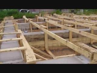Как сделать крепкий фундамент для бани-Дачники
