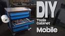 DIY Mobile tools cabinet Homemade Tool Organization Save Time!