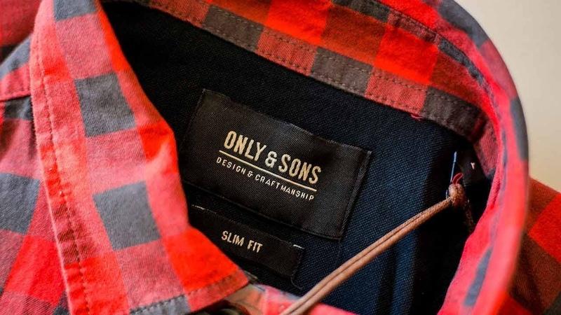 922104 Jack Jones Дания Мужская одежда сток НСК 653